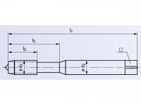 HSSE Maschinengewindeformer Drück 1-STEEL TIN  DIN2174