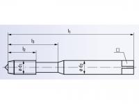 HSSE Maschinengewindeformer Drück 1-STEEL-SN-TIN DIN2174
