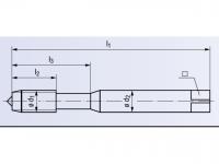 HSSE Gewindeformer InnoForm 1-AL-SN-GLT-8 DIN2174