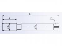 HSSE Gewindeformer Drück 2-STEEL-TIN DIN2174