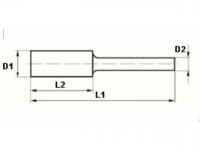 VHM-Frässtifte, Zylinder (ZYA), SCHAFT-Ø 6 MM