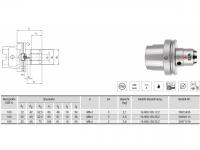 HPH-Dehnspannfutter kurz/schwer HSK-A100