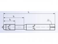 HSSE Gewindeformer InnoForm 1-Z-SN-IKZ-TIN-T1 DIN2174