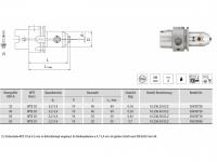 Micro Universal-Spannfutter WTE03 HSK-A
