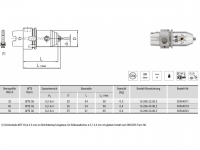 Micro Universal-Spannfutter WTE06 HSK-A