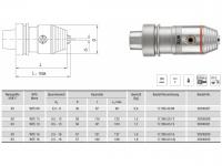 CNC Präzisionsbohrfutter WTE