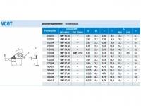 ISO-HM-WSP einseitig PKD eckenbestückt