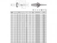 HPH-Dehnspannfutter 3° Multi schlank SK40