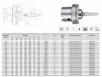 HPH-Dehnspannfutter 3° Multi schlank HSK-A100