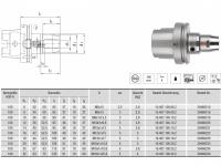 HPH-Dehnspannfutter kurz/schlank HSK-A100