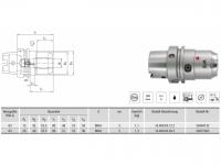 HPH-Dehnspannfutter kurz/schwer HSK-A63