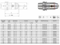 CNC Präzisionsbohrfutter WTE13 HSK-A