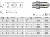 CNC Präzisionsbohrfutter WTE08 IK HSK-A