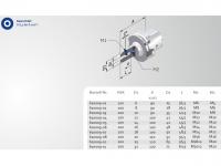 Wistle -Notch-Aufnahme HSK-A100 kurz